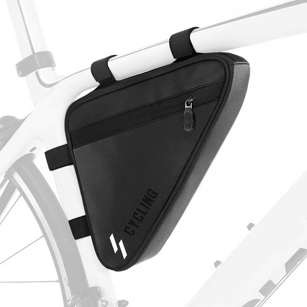 Cycling Triangle Bag Water-resistant MTB Road Bike Frame Tube Bag Pannier Bicycle Bag (Standard)