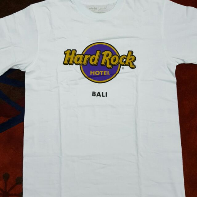 Hard Rock Cafe T Shirt Bali Shopee Malaysia