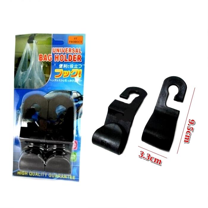M'SIA STOCK] 2PCS/SET PENGANTUNG BARANG KERETA Car Seat Back Hook