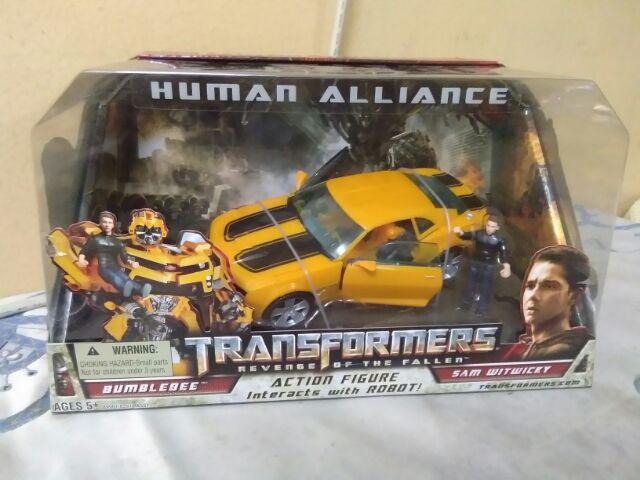 Trasformers human alliance bumblebee   Shopee Malaysia