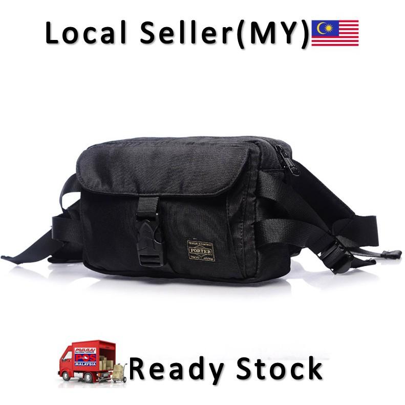 Waist Bag Men s Fashion Waist bag Japan Yoshida PORTER Shoulder Bag Chest  Pack  a449a8c3baba0