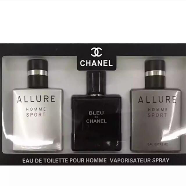 Allure Hommeallure Homme Sport Eau Extremeblue De Chanel Set Edt 25ml