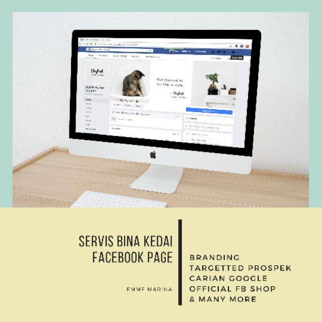 Servis Bina Facebook Page Kedai FB Page EMMEMARINA