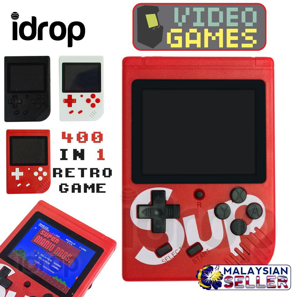 Miji Handheld Game Console Retro Mini Game Console USB Charge 168