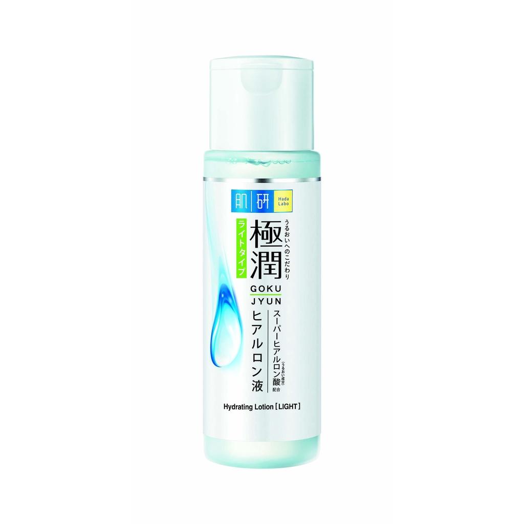 Hada Labo AHA + BHA Face Wash + Gokujyun Hydrating Lotion Light Set