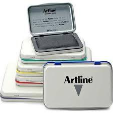 Artline Stamp Pad No. 00 EHJ-1, No. 0 EHJ-2, No. 1 EHJ-3, No. 2 EHJ-4 Stamppad