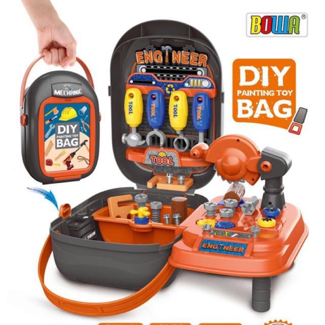 [READY STOCK] Kids Toy Pretend Play Bag Portable Gift Present Set