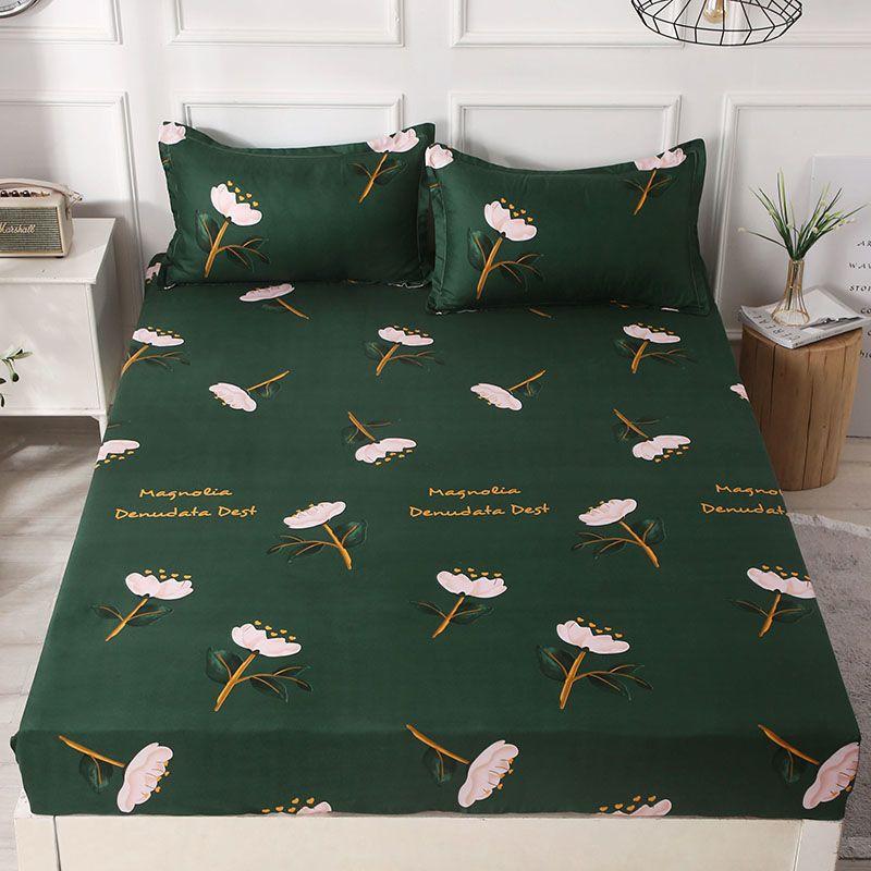 Queen Size Fitted Bedsheet Set With Pillowcase Set Cadar Getah Dengan Sarung Bantal