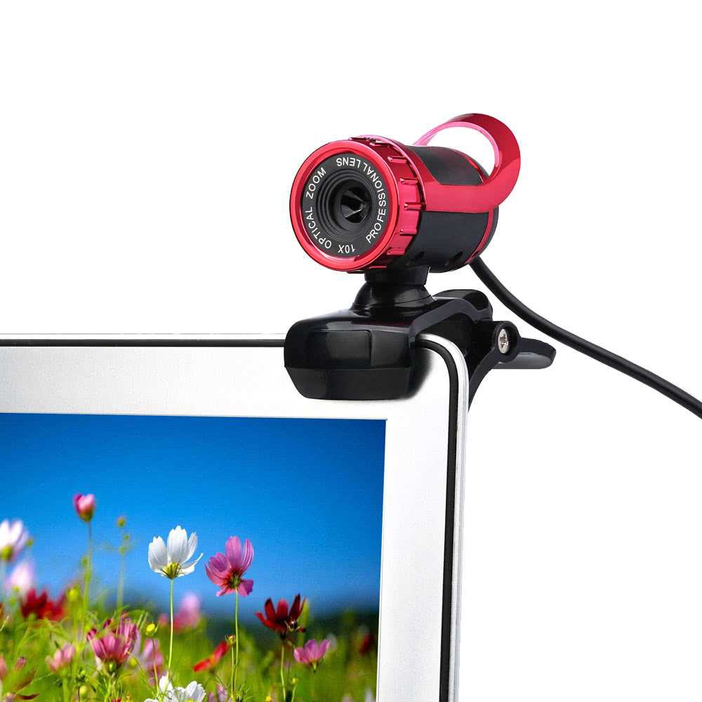 USB 2 0 50 Megapixel HD Camera Web Cam 360 Degree with MIC Clip-on PC Laptop