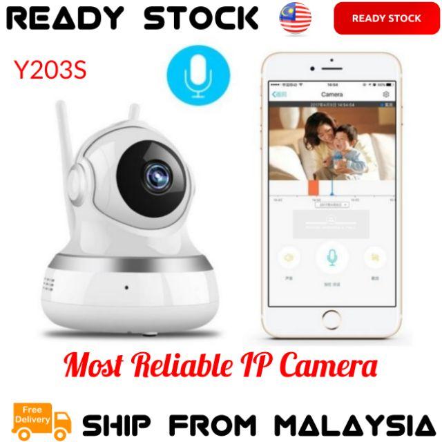 CCTV Home Security HD IP Camera Wireless Smart WiFi Audio CCTV Y203S
