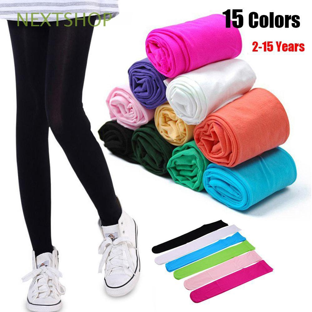 Hosiery Girls Party Gift Pantyhose Stockings Candy Color Tights Ballet Socks