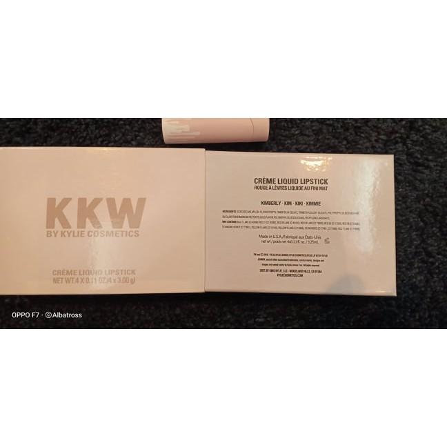 kylíe x KKW Creme Liquid Lipstick Set 4 in 1