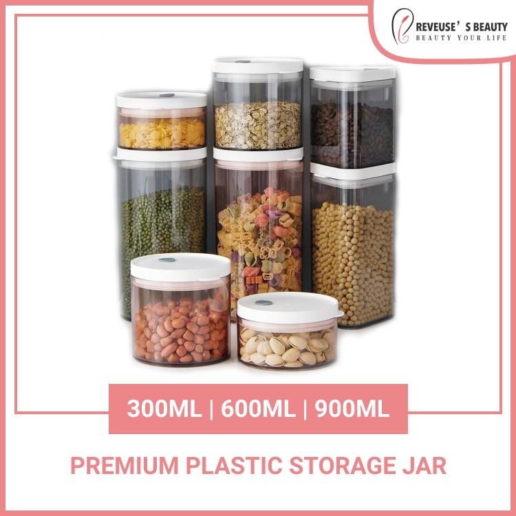 Non Broken Kitchen Pressed Sealed Jar Storage Tank Jar