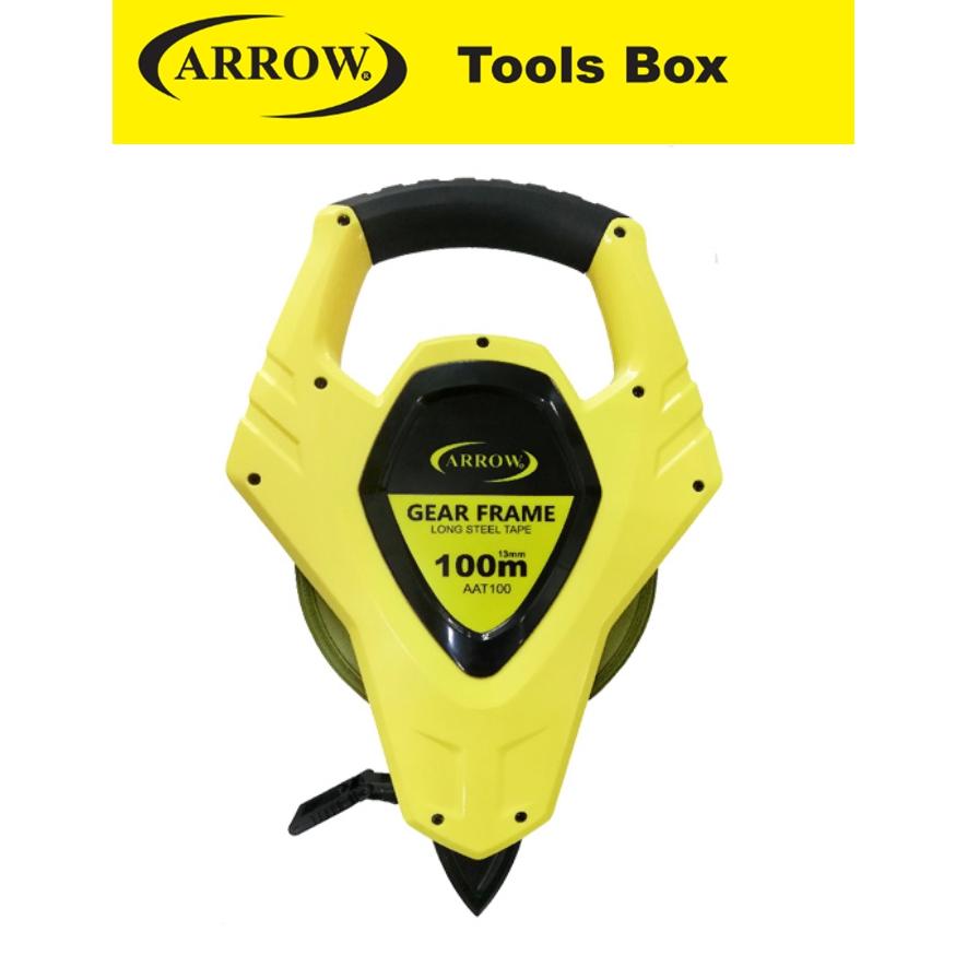 ARROW AAT30 AAT50 AAT100  LONG STEEL TAPE MEASURE HEAVY DUTY MEASURING TAPE EASY USE SAFETY GOOD QUALITY