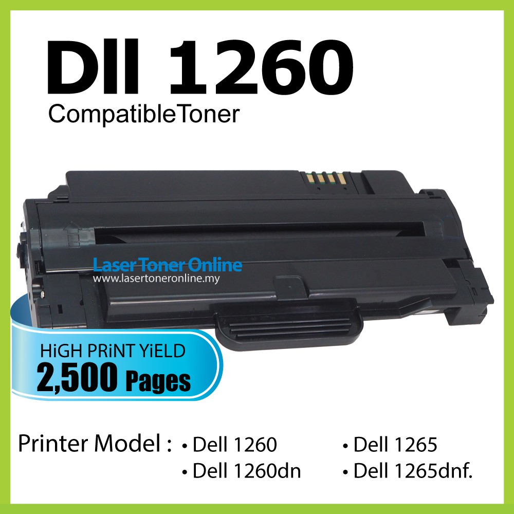 Dell 1265 Toner - Best Pictures Of Dell Ftpimage Org