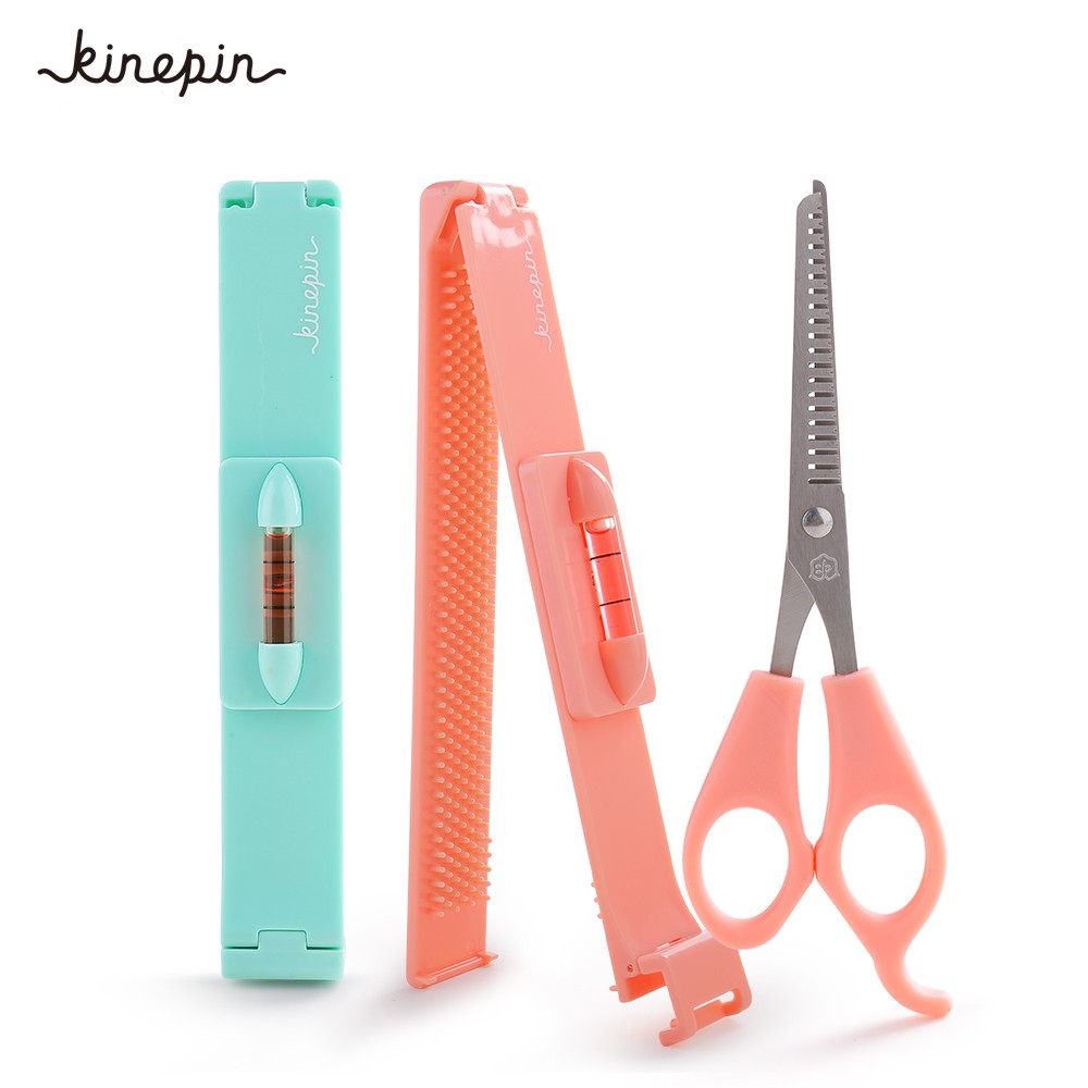Women Girl Fashion Clipper Fringe Hair Cutting Guide Layer Bang Level Ruler Tool Home Appliance Parts Personal Care Appliance Parts