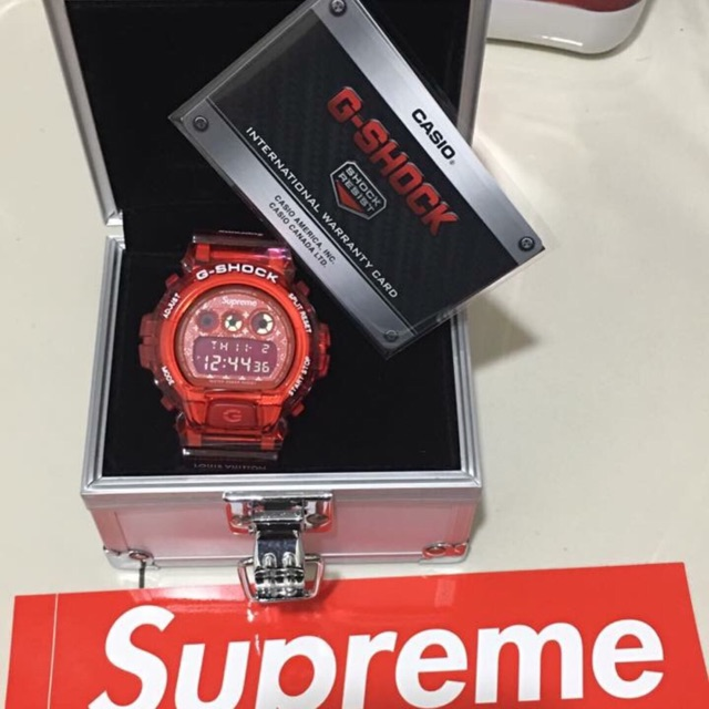 Supreme X LV 6900 Watch Fully Customised BNB With Treasure Box