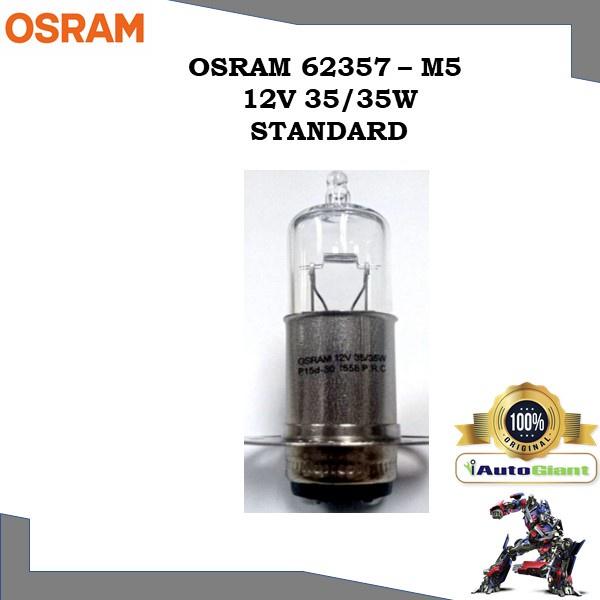 OSRAM 62357 - M5 12V 35/35W STANDARD LAMPU DEPAN RXZ