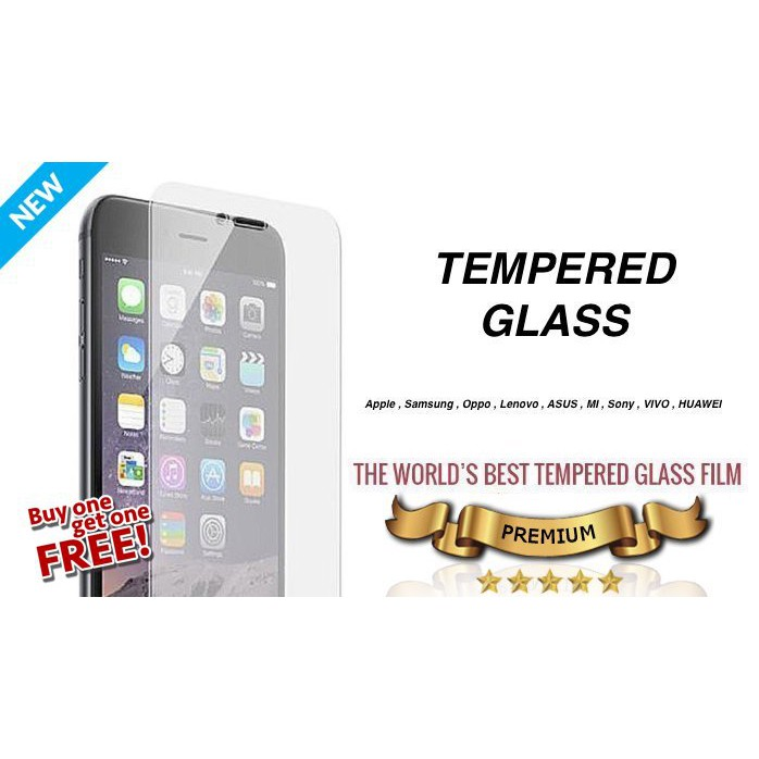 iPhone X 8 7 6 6s 5 5s SE 4 Tempered Glass Screen Protector   Shopee Malaysia