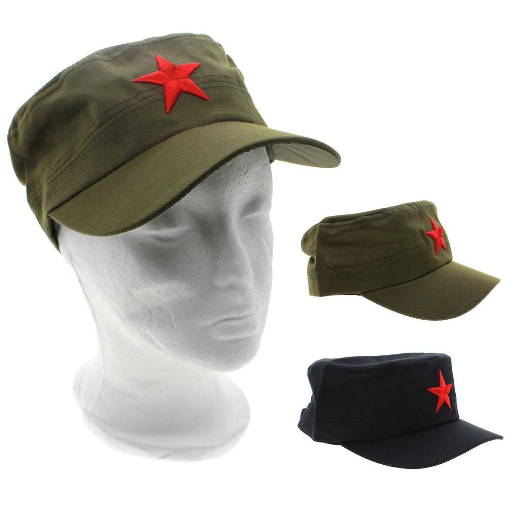 Retro Communist Red Star Army Style Cotton Hat Cap Headwear Gift ... 1097f1a07193
