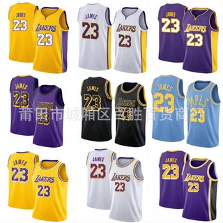 sports shoes cc346 60902 NBA Jersey Los Angeles Lakers 23# LeBron James Basketball ...