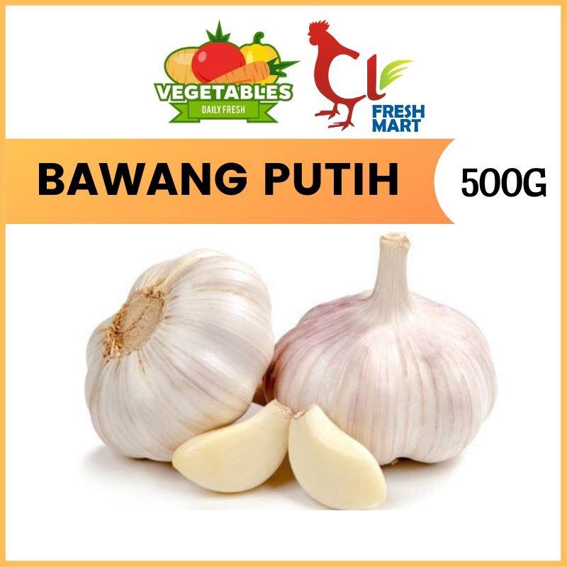 Bawang Putih Segar / Fresh Garlic (500g per Pkt)