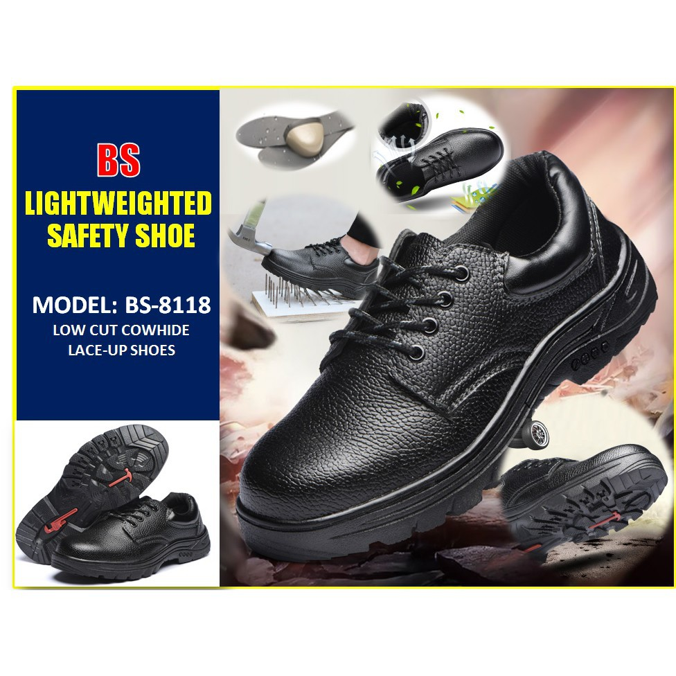 Large size steel toe leather work safety shoes- ONLY SIZE 46 offer *limited to 100pairs* Ex-stock
