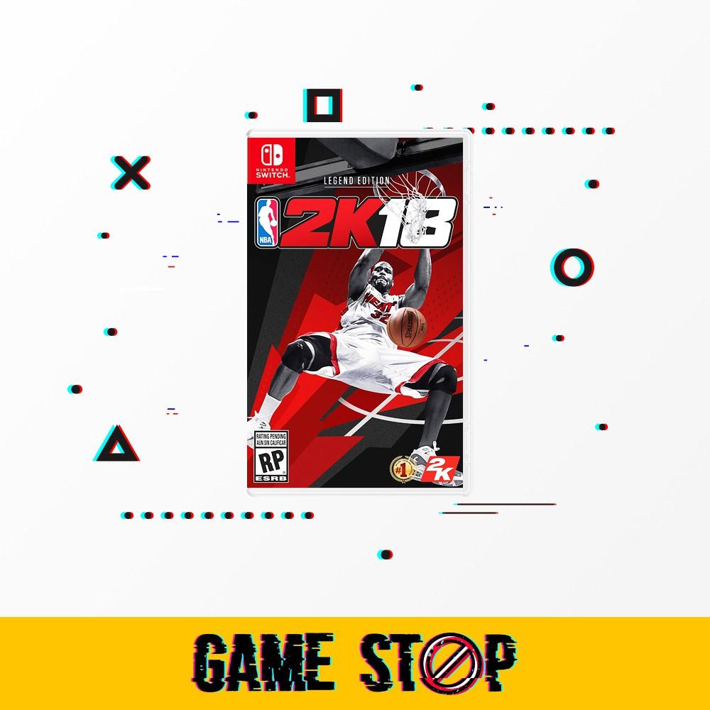 Switch Nba 2K18 Legend Edition [US]