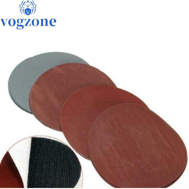 Details about  /3-3//4in 60-240 Grit Sanding Discs Sander Sheet Orbital Sandpaper 6 Holes 100PC