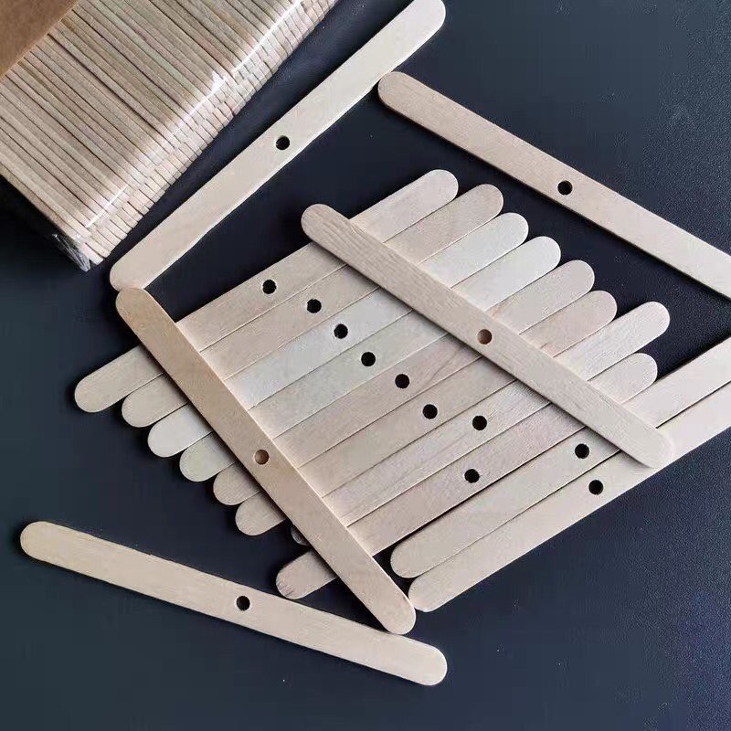 Wooden Candle Wick Holders for Candle Making DIY Candle Wicks Centering Device Candle Wick Clips