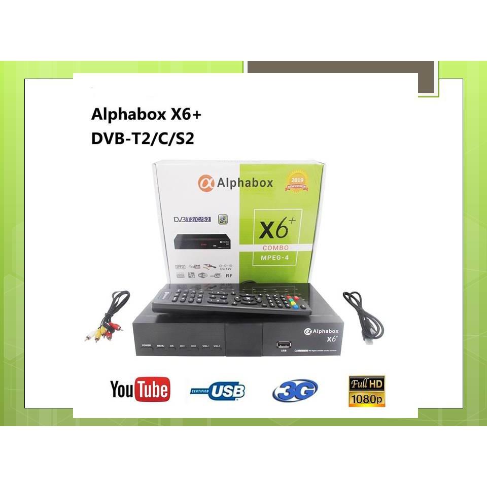 2019 Alphabox X6+ Combo