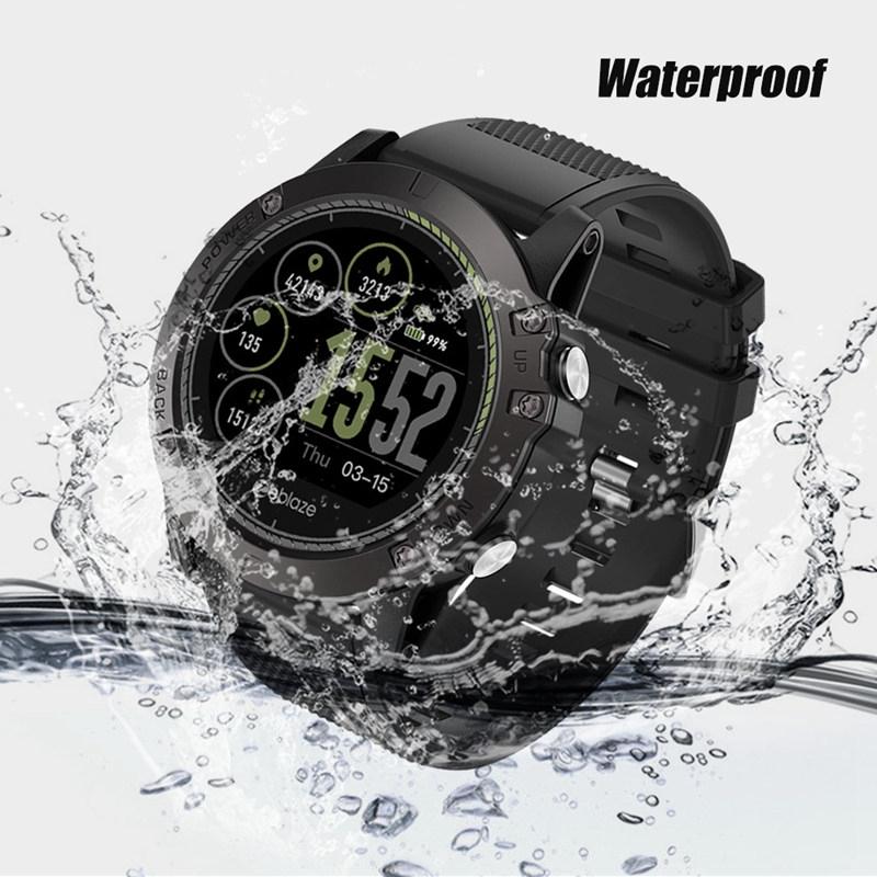 Zeblaze Vibe3 Hr Heart Rate Monitor Waterproof Smart Watch Android