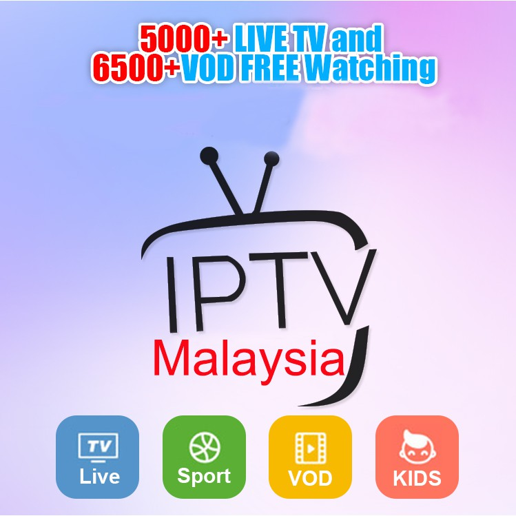 IPTV VOD DCC Live Free 2 Year Set Top iptvAndroid TV Box Southeast Asia  Malaysia