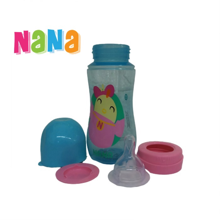 Didi & Nana Wide Neck Feeding Bottle 12oz - Botol Susu