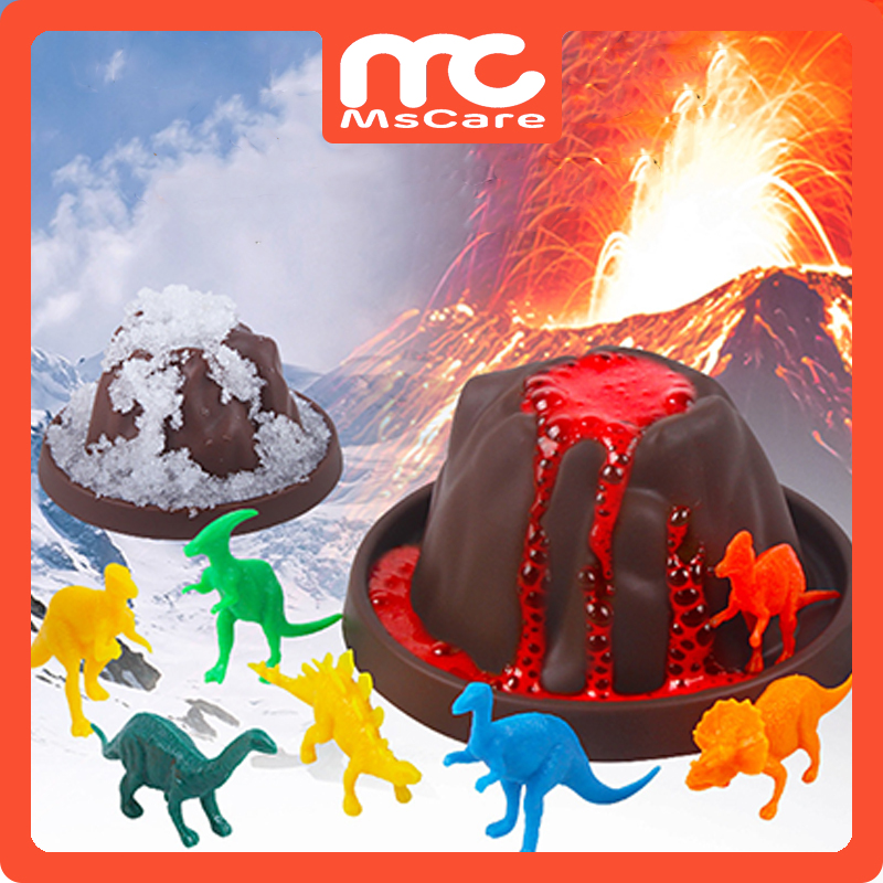Kids Early education science toys suit volcano eruption toy educational toys Snow Mountain Experimental Toy
