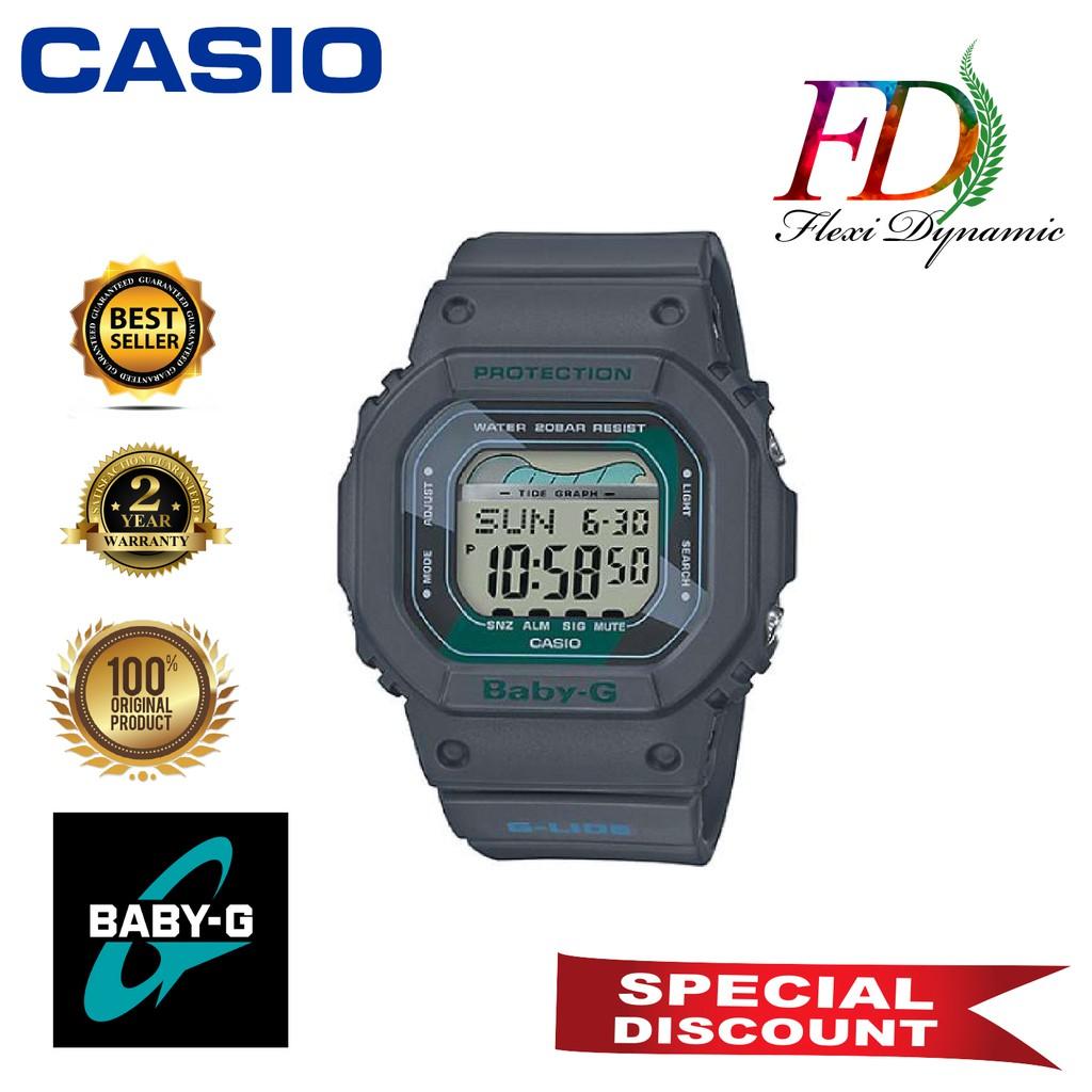 Original BLX-560VH-1 Black Resin Strap Digital Watch/Band Men Sports Watch Casio G-Shock