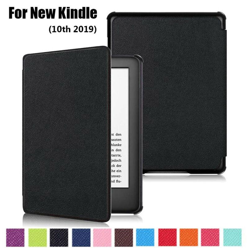 2019 Released) Smart Case PU Leather Slim Cover For Amazon