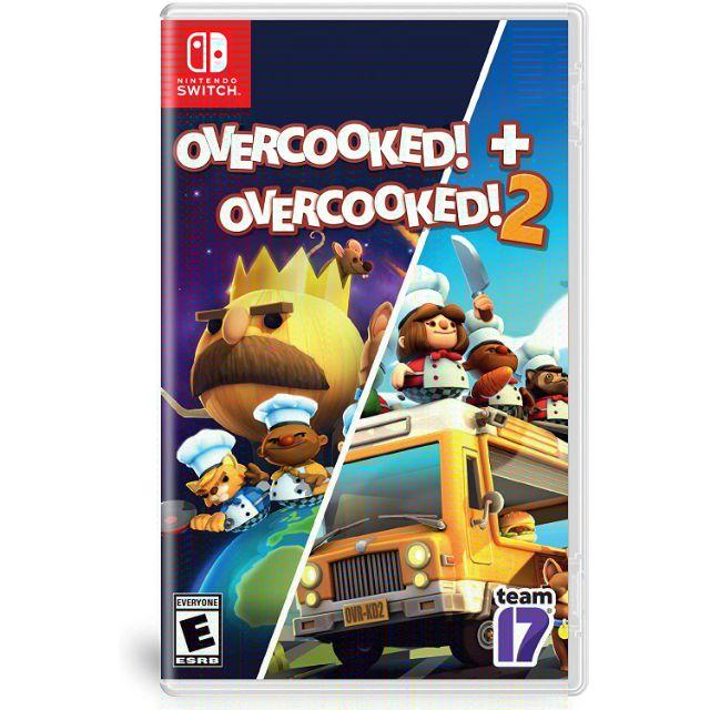 Overcooked! + Overcooked! 2 - Nintendo Switch