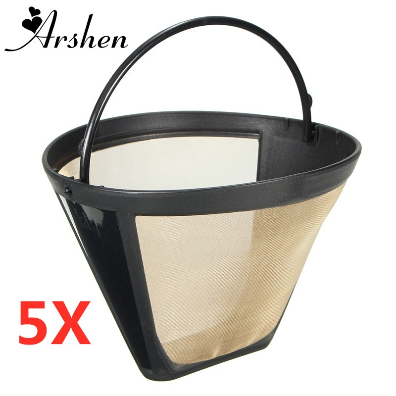 Durable Reusable Coffee Filter Coffee Maker Machine Filter Cafe Coffees  Tools Kitchen Coffee Capsule