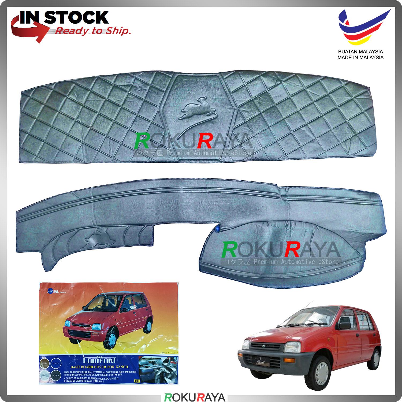 [DARK BLUE] Perodua Kancil Old Lampu Petak Lompat Malaysia Dashboard Cover (Front and Rear)