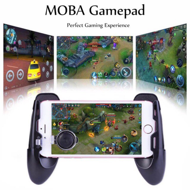 GAMEPAD CONTROLLER WITH JOYSTICK PUBG / RULES / MOBILE LEGEND | Shopee Malaysia