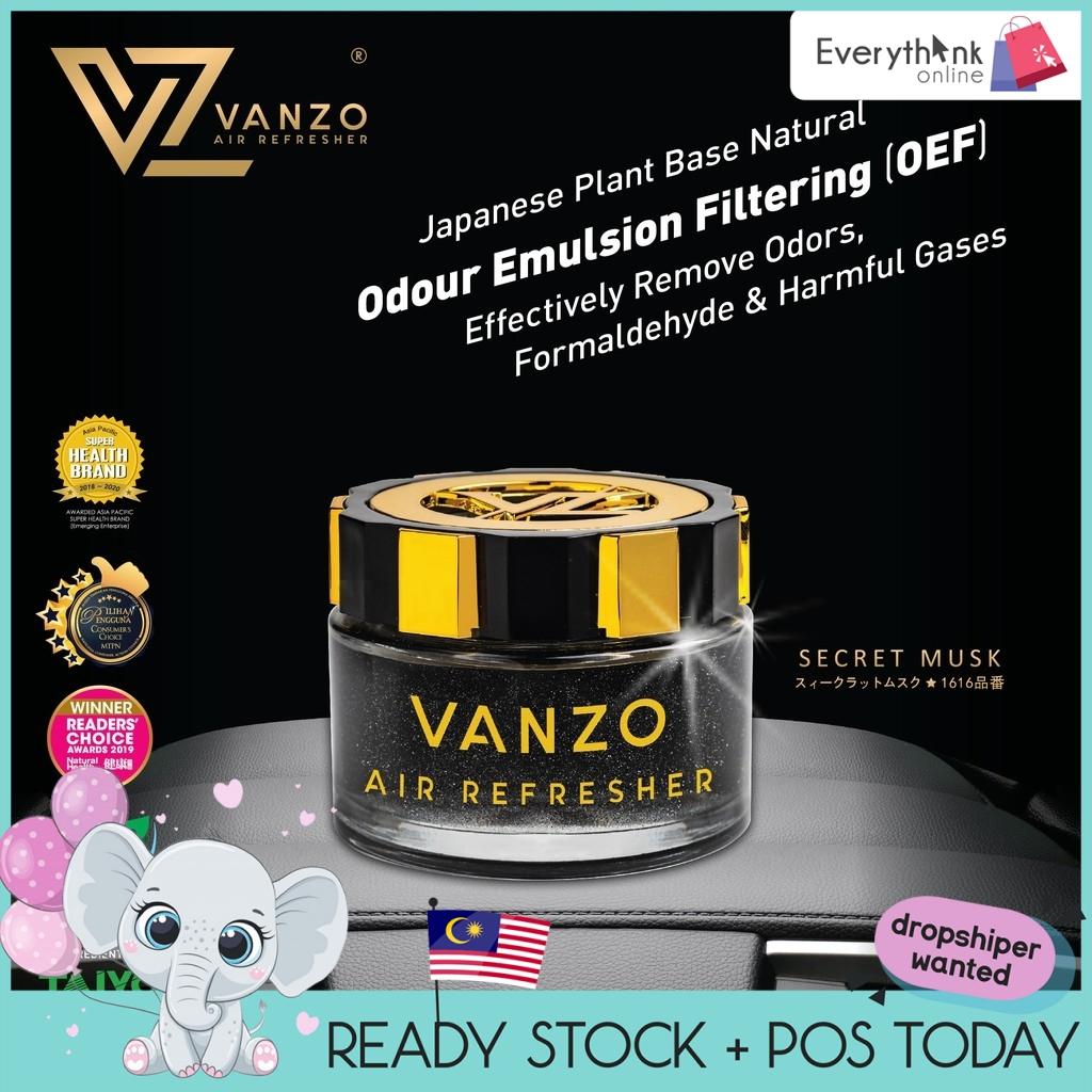 READY STOCK VANZO CAR PERFUME 100% ORIGINAL JAPAN VEHICLE AIR CAR FRESHENERS