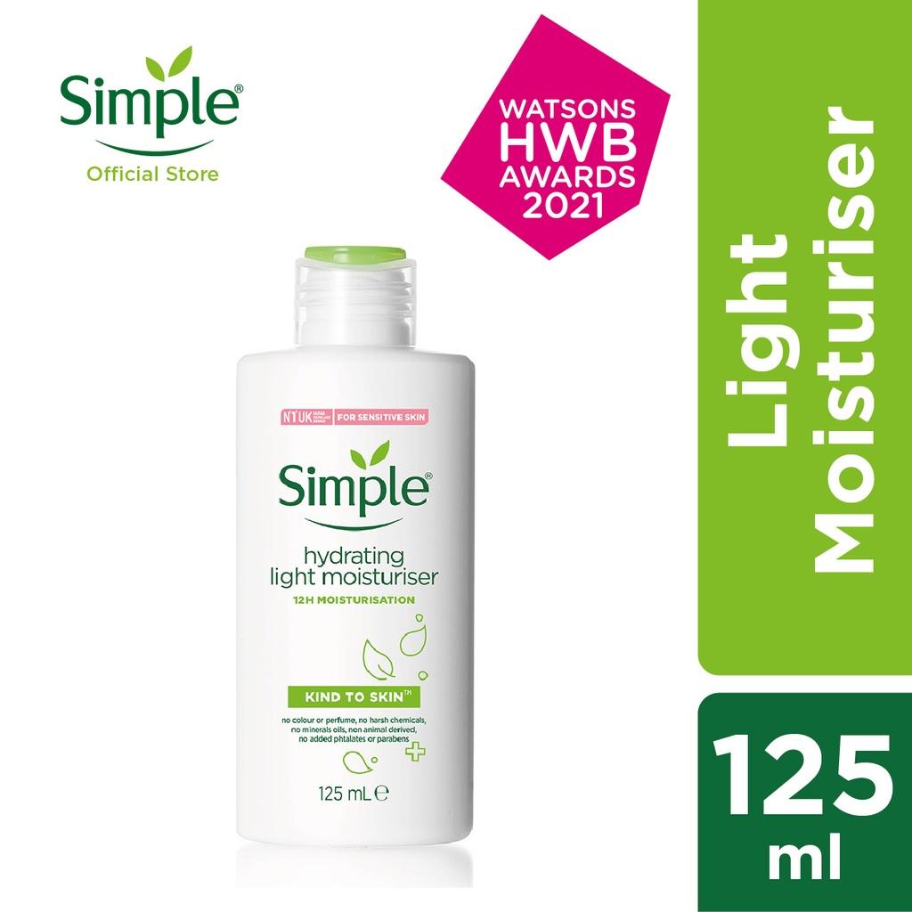 Simple Hydrating Light Moisturiser (125ml)