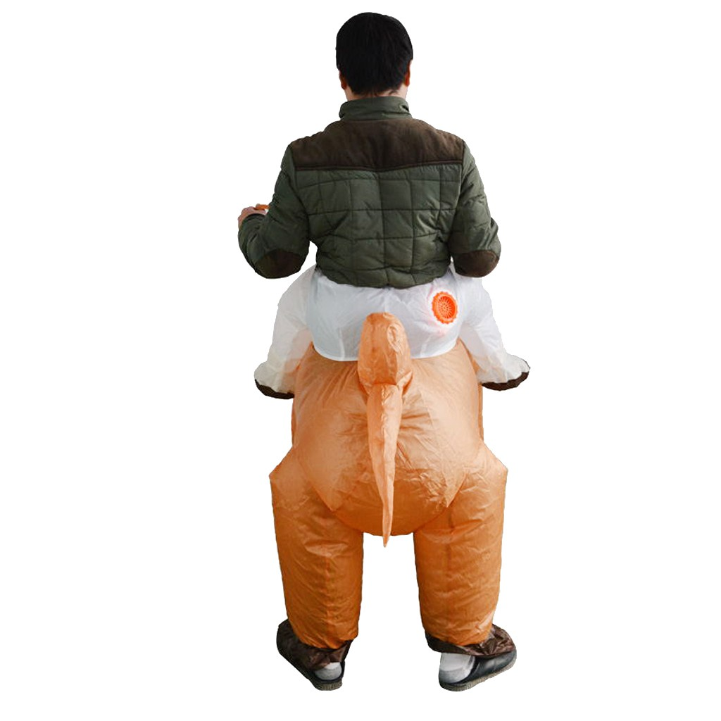 Inflatable Camel Rider Costume Outfit Adult Cosplay Party Fancy Dress Up