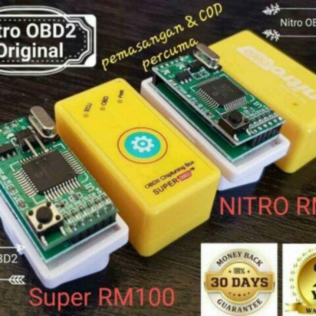 Super Nitro Obd2 Original ( Save Petrol/Diesel Up 35% & Very Pickup Up 25% )