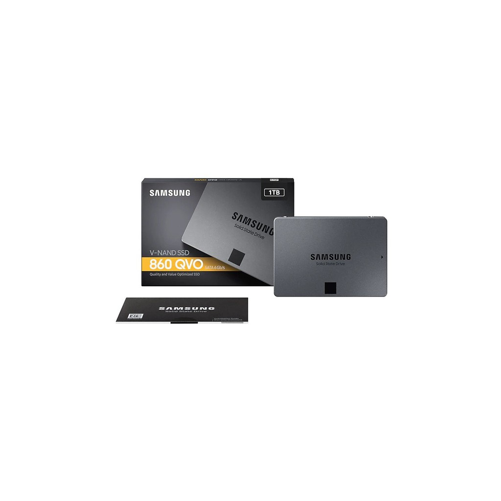 Samsung 860 QVO 1TB SATA III 2.5 Inch SSD V-NAND 6GB/s 550MB/s MZ 76Q1T0BW