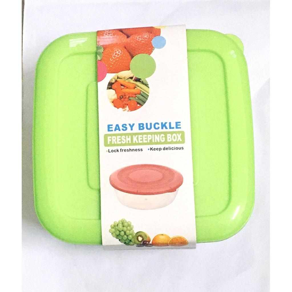 Storage Organizer Container Refrigerator Fridge Sealed Air Tight Durable Hygiene 4pcs/ set