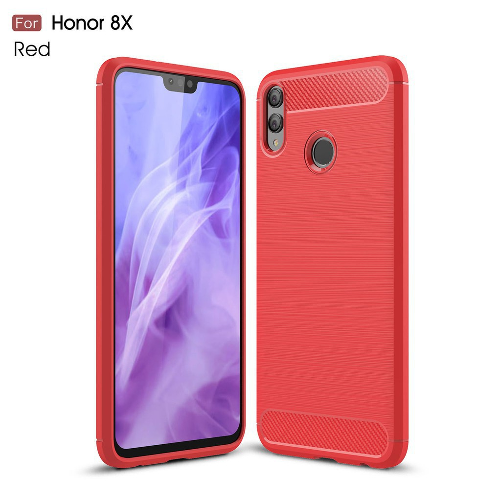 Huawei Honor 8X Silicone Fashion Soft Shell Dustproof Phone Case