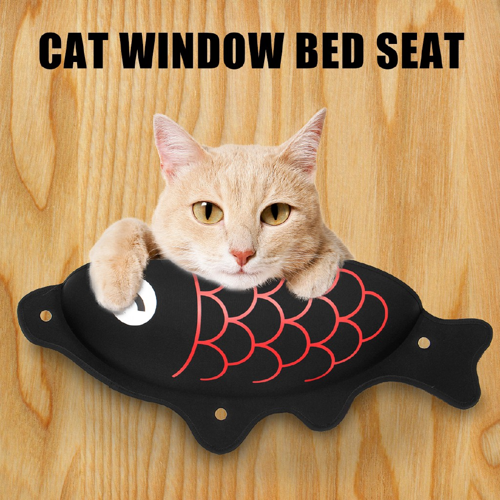 Brilliant Cat Bed Window Seat Perch Kitty Shelf Suction Cup Mat Dailytribune Chair Design For Home Dailytribuneorg