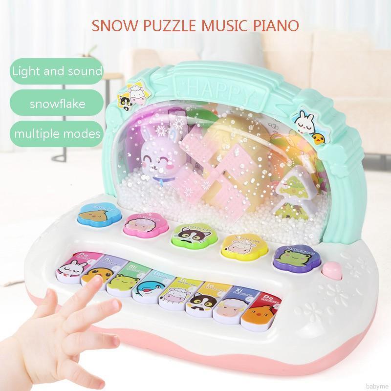 ♕ babyme ღ Piano Electronic Keyboard Music Development Educational Musical  Toys